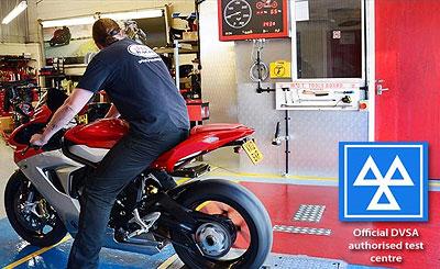 Bristol motorcycle MOT testing