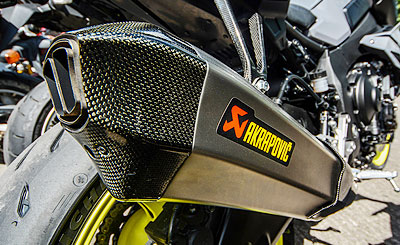 Motorcycle performance parts