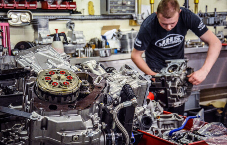 JHS Racing motorcycle engine tuning