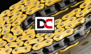 DC motorcycle chain