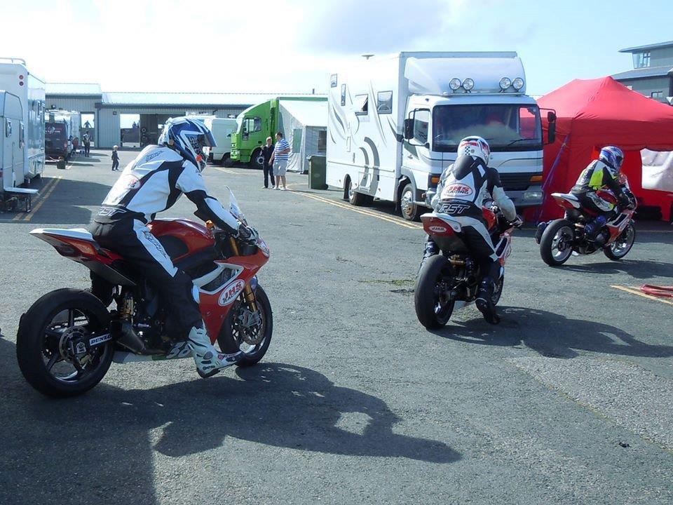 JHS Racing twins