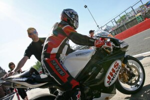 JHS motorcycle race team