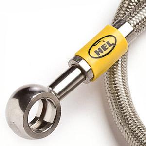 Hel braided brake hose