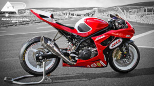 JHS Racing Suzuki Supertwin