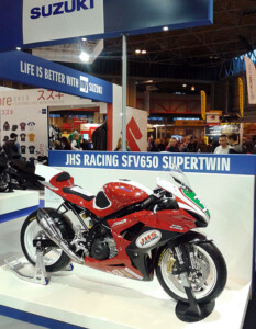 JHS Suzuki SFV650 Supertwin