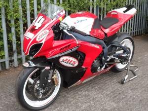 Suzuki GSXR race bikes