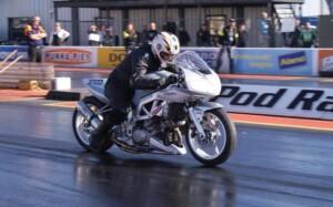SV1000 drag bike
