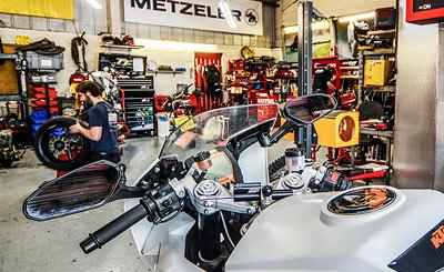 Motorcycle workshop Bristol Bath